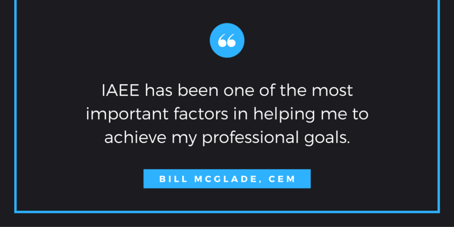 IAEE has been one of the most important factors in helping me to achieve my professional goals.