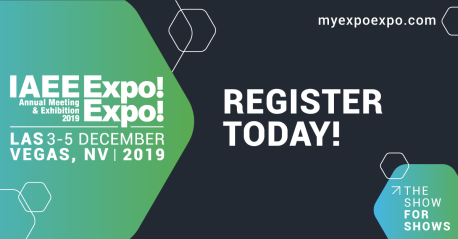 Register Today 2019 Expo Expo Graphic