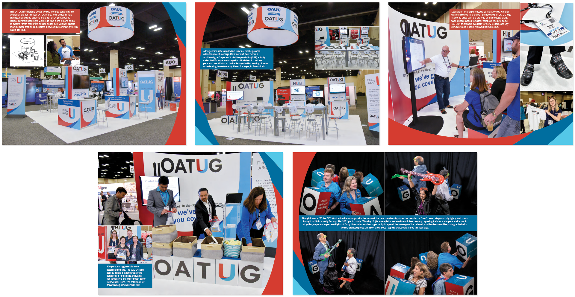2019 Art Of The Show Competition Winners Attendee Booth Interaction Iaee Blog Station